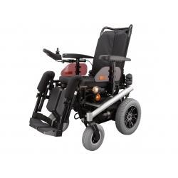Silla de ruedas eléctrica con respaldo y asiento reclinables