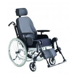 Silla de ruedas de posicionamiento de exterior